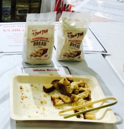 Bob's Red Mill bread mix samples